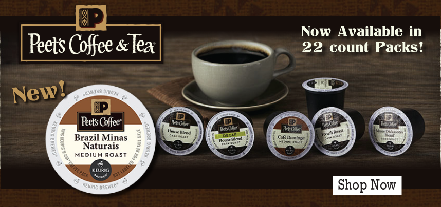 Peet's Coffee Now Available in 22 Count Packs!