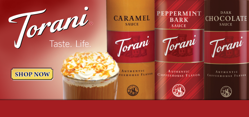 Make your coffee truly special with Torani sauces!