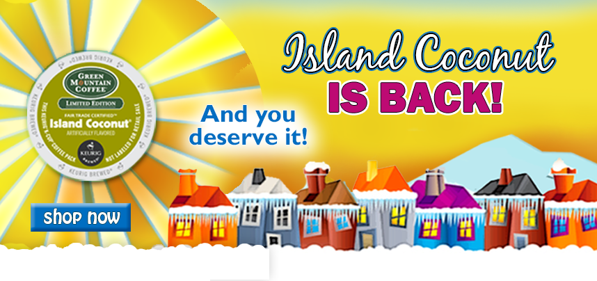 Island Coconut is Back. And you deserve it!