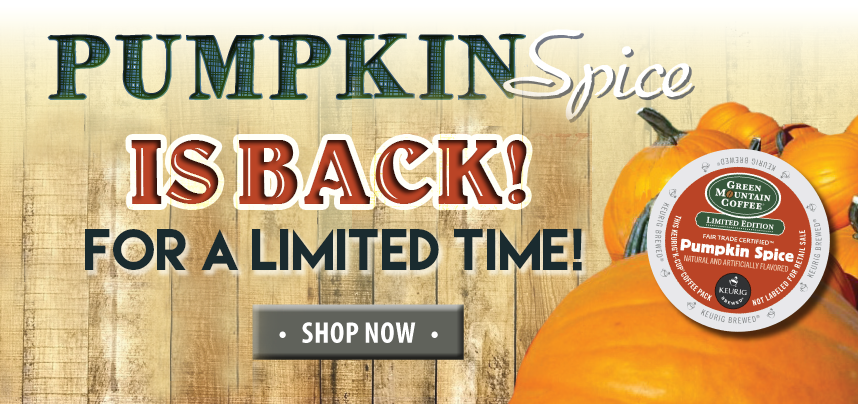 Pumpkin Spice is Back in MAY!