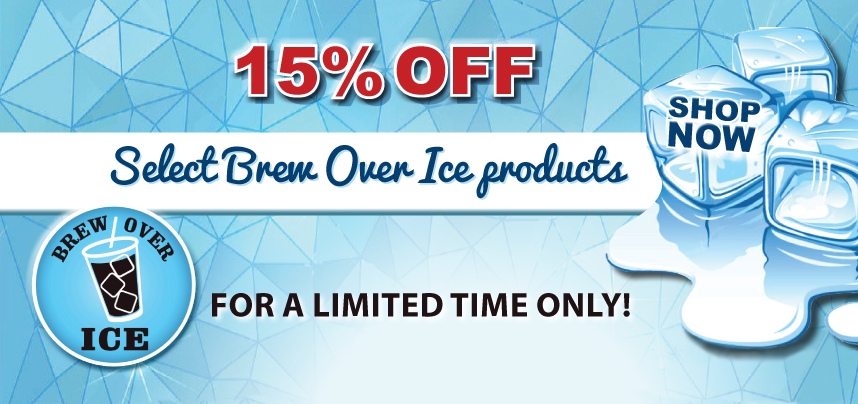 15% Off Select Brew Over Ice Products