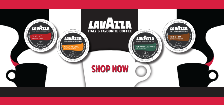 New K-Cups from Lavazza!