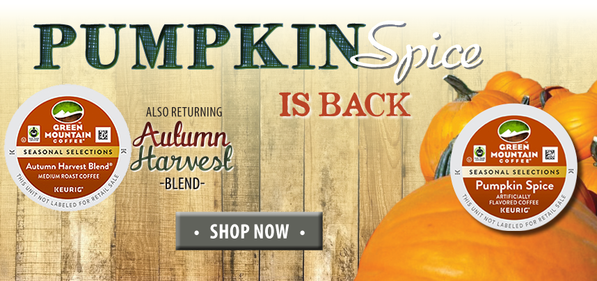 Pumpkin Spice & Autumn Harvest Blend are Here!