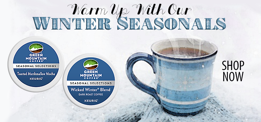 Warm Up with Our Winter Seasonals!