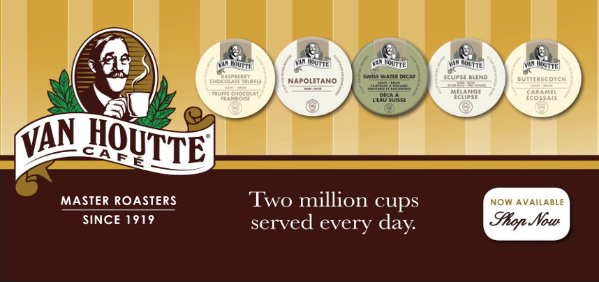 Van Houtte K-Cups Have Arrived!