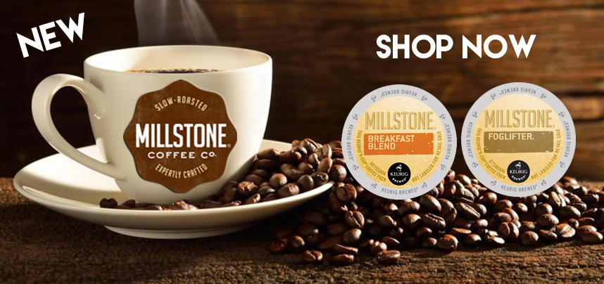 Try New Millstone K-Cups Today!