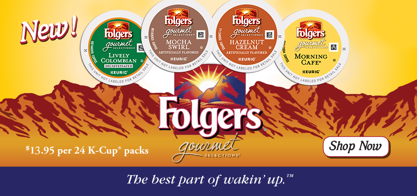 New K-Cups from Folgers!