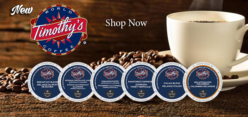 New Timothy's K-Cups are Here!