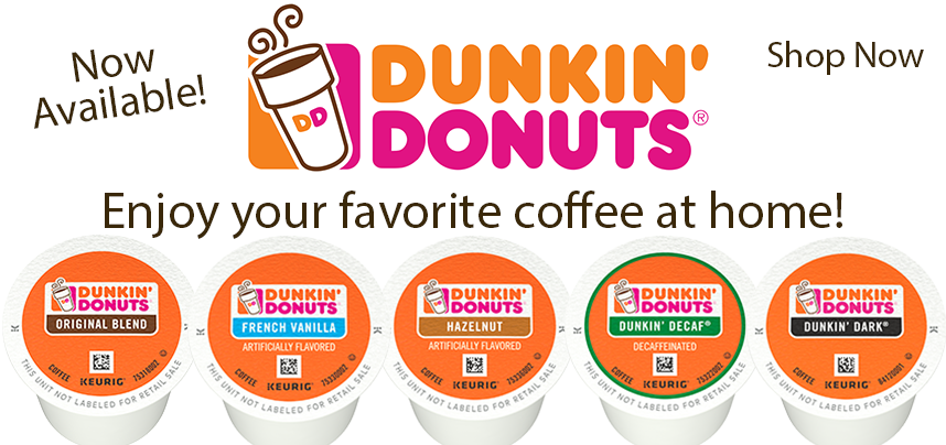 New Dunkin' Donuts K-Cups!
