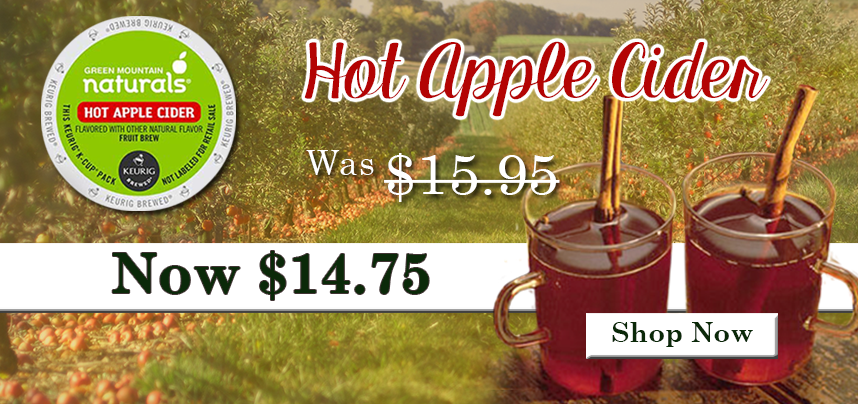 Apple Cider Now Only $14.75!