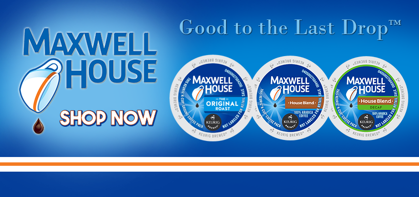 New Maxwell House K-Cups are here!