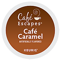 Café Escapes – Café Caramel K-Cup Packs