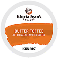 Gloria Jean's - Butter Toffee K-Cup Packs
