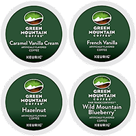 Green Mountain Coffee - Flavored Sampler K-Cup Packs