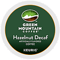 Green Mountain Coffee - Decaf Hazelnut K-Cup Packs