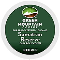 Green Mountain Coffee - Extra Bold Organic Sumatran Reserve K-Cup Packs