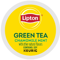 Lipton - Green Tea Chamomile Mint K-Cup Packs