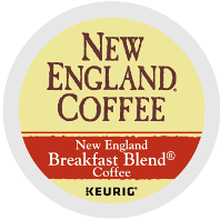New England Coffee - Breakfast Blend K-Cup Packs