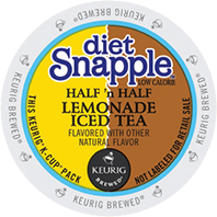 Snapple - Diet Half N Half Lemonade Iced Tea K-Cup Packs