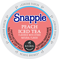 Snapple - Peach Iced Tea K-Cup Packs