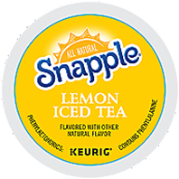 Snapple - Lemon Iced Tea K-Cup Packs