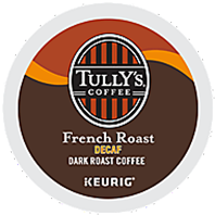 Tully S Decaf French Roast K Cup Packs
