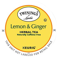 Twinings - Lemon & Ginger Tea K-Cup Packs