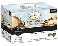 Twinings - French Vanilla Chai Latte K-Cup Packs