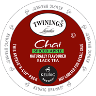 Twinings - Spiced Apple Chai Tea K-Cup Packs