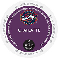 Timothy's - Chai Latte K-Cup Packs