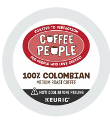 Coffee People - 100% Colombian K-Cup Packs