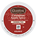 Celestial Seasonings - Cinnamon Apple Spice Tea K-Cup Packs