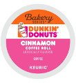 Dunkin' Donuts - Cinnamon Coffee Roll K-Cup Packs