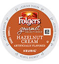 Folgers - Hazelnut Cream  K-Cup Packs