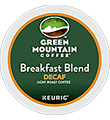 Green Mountain Coffee - Decaf Breakfast Blend K-Cup Packs