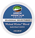 Green Mountain Coffee - Fair Trade Wicked Winter Blend K-Cup Packs