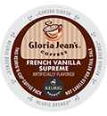 Gloria Jean's - French Vanilla Supreme K-Cup Packs