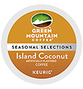 Green Mountain Coffee - Fair Trade Island Coconut K-Cup Packs