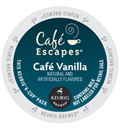 Café Escapes – Café Vanilla K-Cup Packs