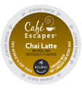 Café Escapes - Chai Latte K-Cup Packs