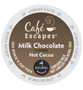 Café Escapes - Milk Chocolate Hot Cocoa K-Cup Packs