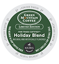 Green Mountain Coffee - Fair Trade Holiday Blend K-Cup Packs