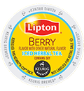 Lipton - Berry Iced Herbal Tea K-Cup Packs