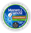 Maxwell House - Decaf House Blend K-Cup Packs