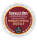 Green Mountain Coffee - Decaf Newman's Own Special K-Cup Packs