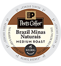 Peet's Coffee & Tea - Brazil Minas Naturais K-Cup Packs