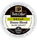 Peet's Coffee & Tea - Decaf House Blend K-Cup Packs