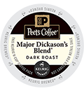 Peet's Coffee & Tea - Major Dickason's Blend® K-Cup Packs