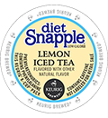 Snapple - Diet Lemon Iced Tea K-Cup Packs