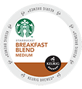 Starbucks® - Breakfast Blend K-Cup Packs